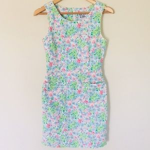 Vintage Lilly Pulitzer Floral Sheath Dress 10